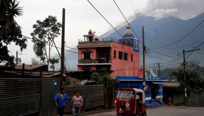 Извержение вулкана в Гватемале: свыше 20 погибших, сотни пострадавших
