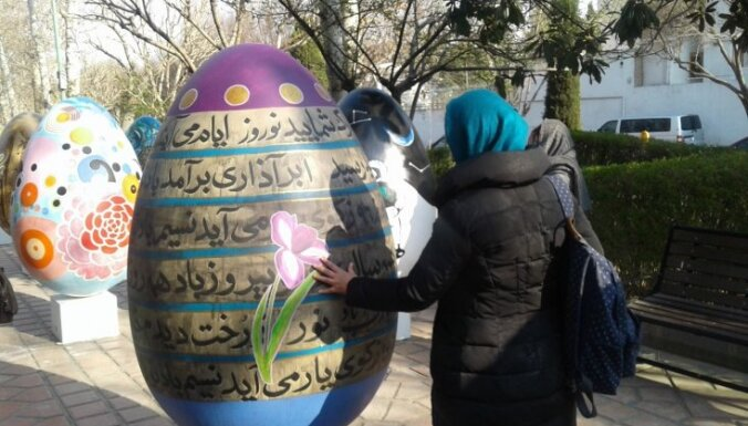 Ceļojuma stāsts: Jaunais gads Irānā sākas martā un līdzinās latviešu saulgriežu svinībām