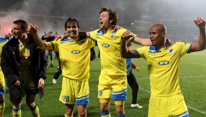 Arī APOEL ieraksta savu vārdu Čempionu līgas vēsturiskajā vakarā
