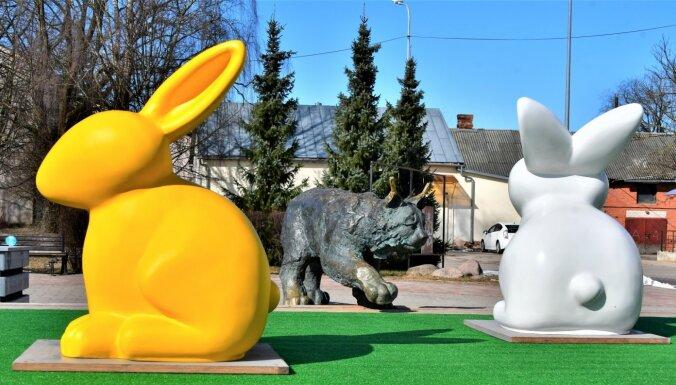 Koši foto: Kā svētkiem par godu izgreznojusies Jēkabpils