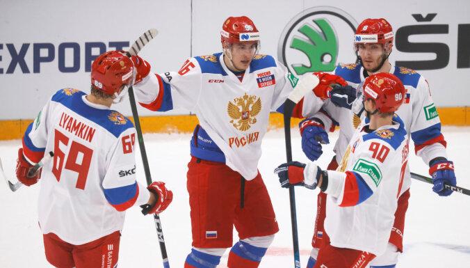 Сборная России по хоккею выиграла домашний этап Евротура