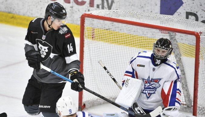 'Rīgas' hokejisti MHL mačā izcīna jau septīto uzvaru šosezon