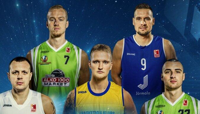 'OlyBet' LBL Zvaigžņu pamatsastāvā iebalsoti Ventspils, Jūrmalas, Valkas un Jēkabpils basketbolisti