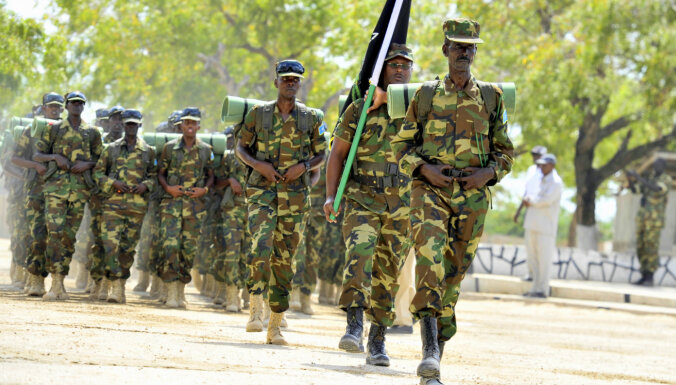 ASV ziņo par progresu Somālijas specvienības 'Danab' veidošanā
