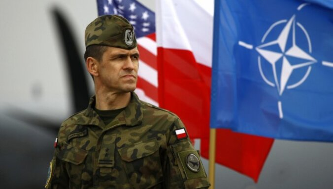 ASV vēstniece: sarunas par ASV klātbūtnes palielināšanu Polijā ir 'uz pareizā ceļa'