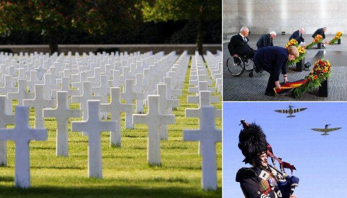 ФОТО: В Европе отмечают 75 лет со дня победы во Второй мировой