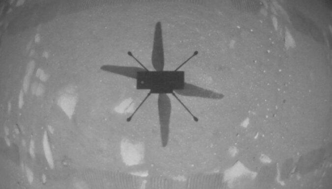 Veiksmīgi noticis vēsturē pirmais drona lidojums uz citas pasaules