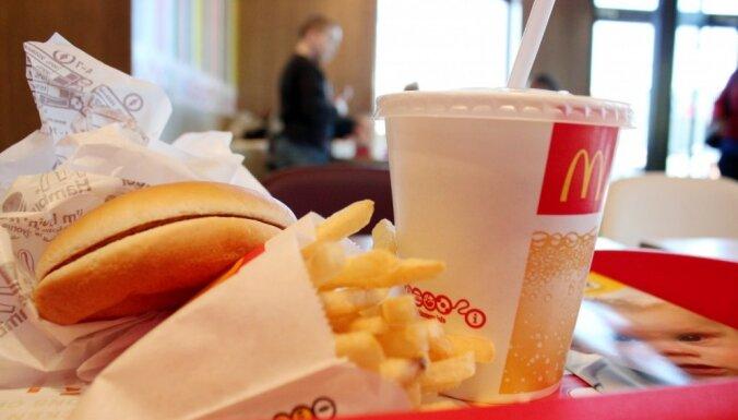 """В этом году исполняется 25 лет первому ресторану """"McDonald's"""" в Риге"""