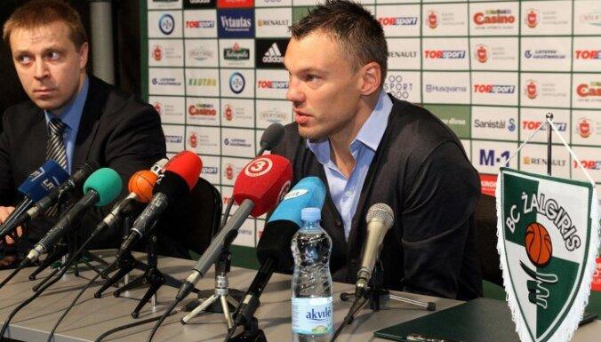 Jasikēvičs pagarina līgumu ar 'Žalgiris' vēl uz vienu sezonu