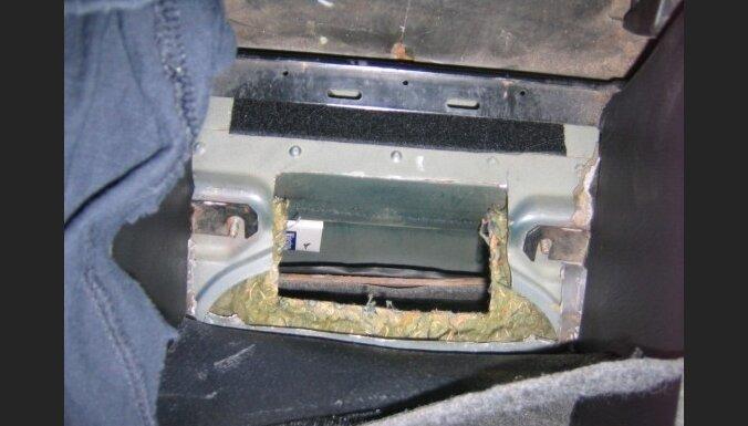 На границе изъяты контрабандные сигареты
