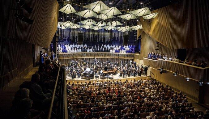 Foto: Nedēļas nogalē atklāta jaunā Ventspils koncertzāle 'Latvija'