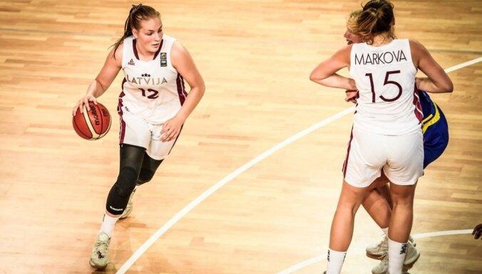 Latvijas U-18 basketbolistes Eiropas čempionātu noslēdz ar septīto vietu
