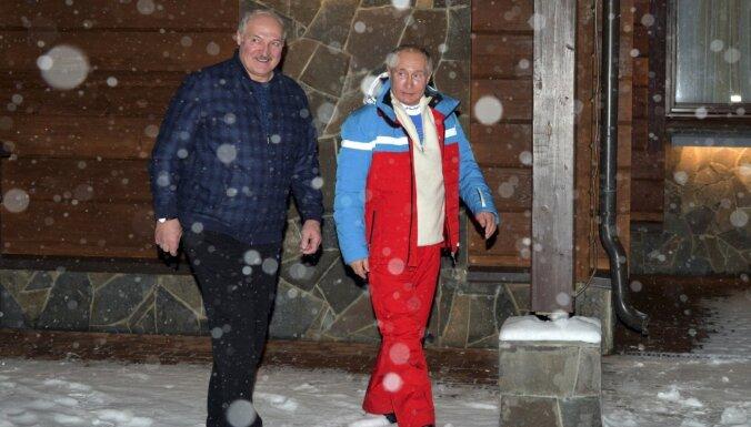 Лукашенко прибыл в Россию