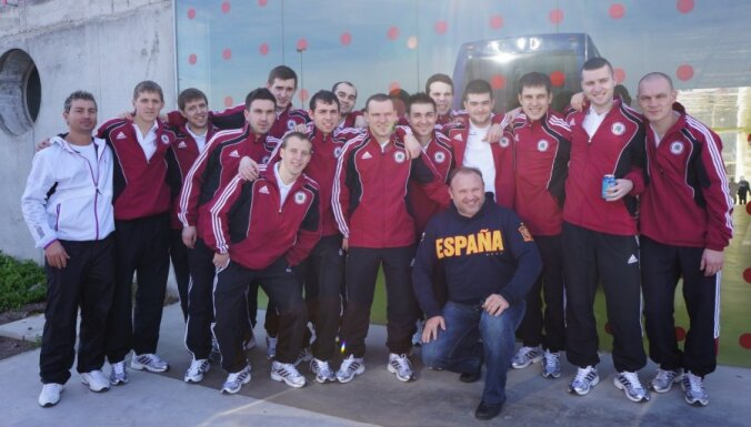 Сборная Латвии забила испанцам гол престижа