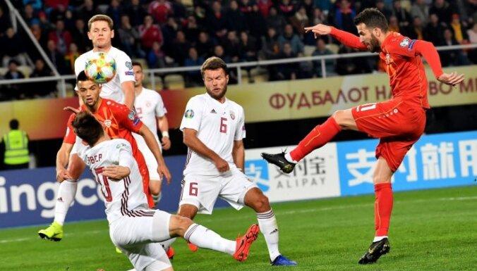 Сборная Латвии в первой игре Стояновича лишилась Ванина и пропустила три мяча