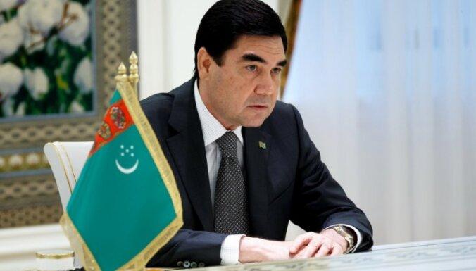 Turkmenistānas prezidents iecēlis dēlu valdības vadītāja vietnieka amatā