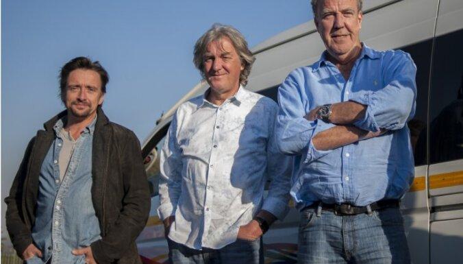 Ziemassvētkos BBC demonstrēs 'TopGear' speciālizlaidumu ar veco trijotni