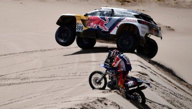 Dakaras rallijs pēc piecu gadu pārtraukuma atgriežas Peru
