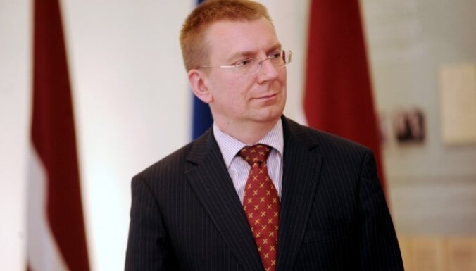 Edgars Rinkēvičs aicina ES un Latīņamerikas un Karību valstis apvienot spēkus globālo izaicinājumu risināšanā