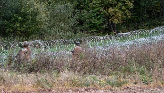 В субботу предотвращена 21 попытка незаконного пересечения латвийско-белорусской границы