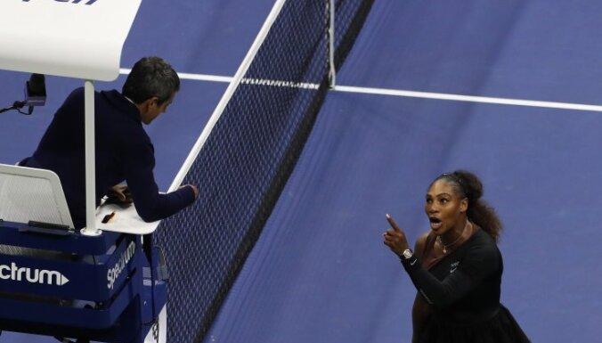 Серену Уильямс оштрафовали на 17 тысяч долларов за скандал в финале US Open