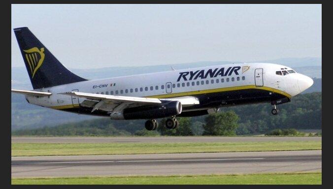 'Ryanair' atvērs bāzi Kauņas, nevis Rīgas lidostā