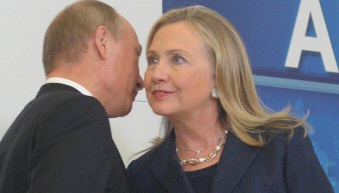 """В США возмущены """"сексистским"""" заявлением Путина о Хиллари Клинтон"""