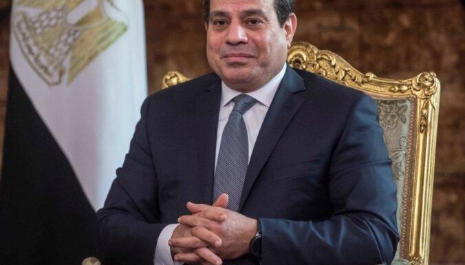 Ēģiptes prezidents Abdelfatahs al Sisi paziņo par kandidēšanu uz otru termiņu