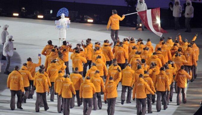 На зимней Олимпиаде в Пхенчхане Латвию представят 35-40 спортсменов