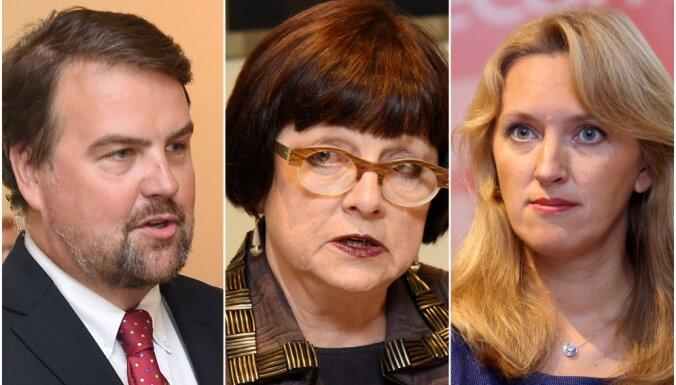 'Attīstībai/Par!' līderi Eiropas Parlamenta vēlēšanās būs Ijabs, Rubesa un Ilvesa