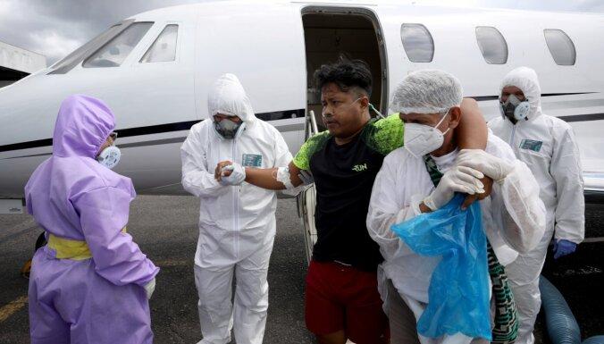 Бразилия обогнала Россию по числу заражений коронавирусом