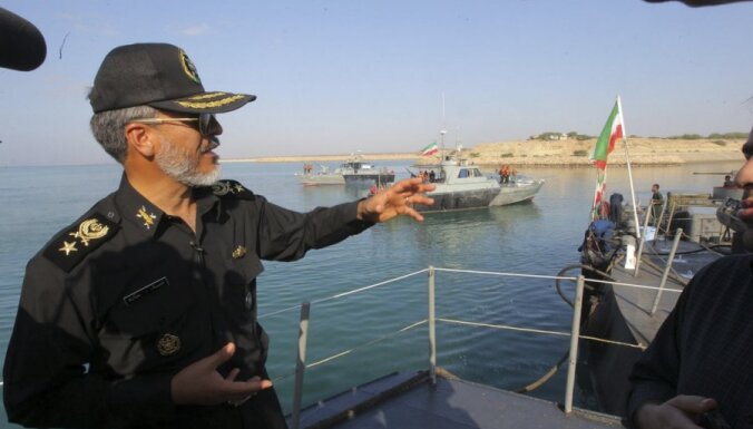 ASV sola neļaut Irānai bloķēt svarīgo tankkuģu ceļu – Ormuzas šaurumu