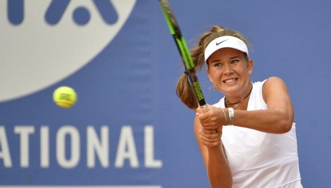 Bartone ar vēl vienu pārliecinošu uzvaru turpina 'US Open' junioru turnīru