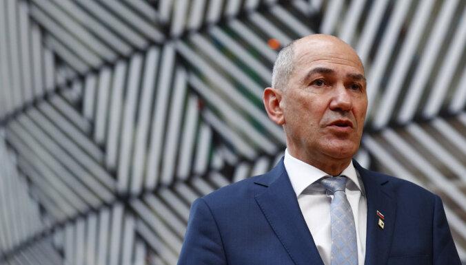 Slovēnijas parlaments noraida premjera Janšas impīčmenta procesa sākšanu