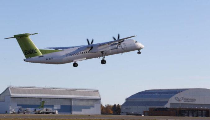 Lai glābtu 'CSeries' lidmašīnas, 'Bombardier' apsver 'Q400' biznesa pārdošanu