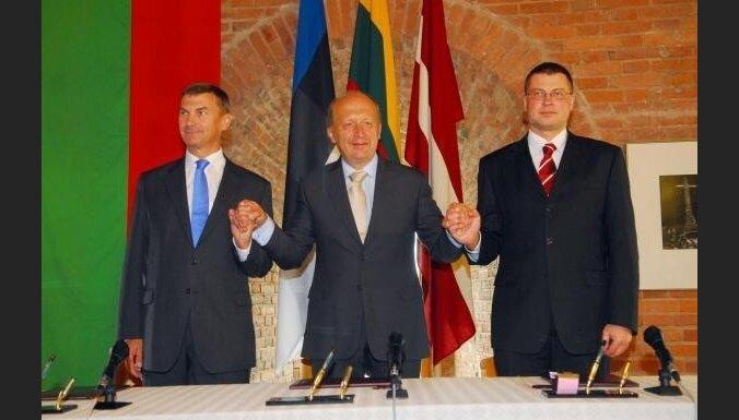 Premjers: Baltijas valstu stratēģijas izejai no krīzes ir līdzīgas