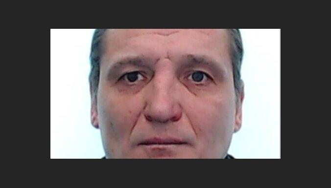 Lūdz palīdzību bezvēsts pazuduša vīrieša meklēšanā