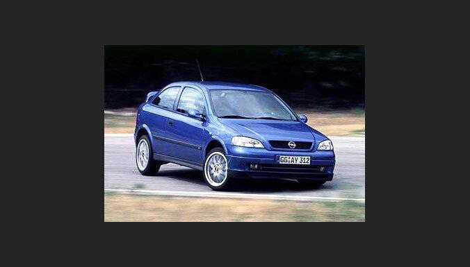 'Opel Astra' – joprojām populārākais jaunais auto