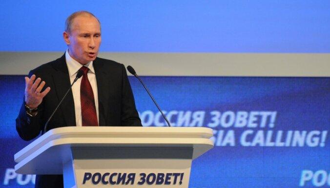 Putins nosauc NATO par aukstā kara atavismu