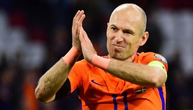 Роббен объявил об уходе из сборной Нидерландов
