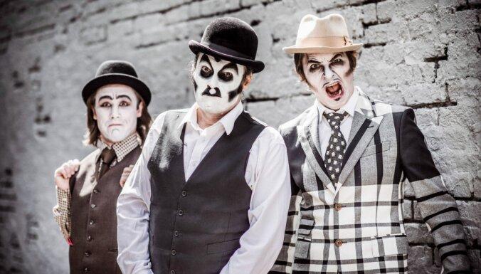 В Риге выступит культовое трио The Tiger Lillies