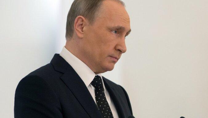 Krievija Sīrijā vēl visas savas iespējas nav parādījusi, uzsver Putins
