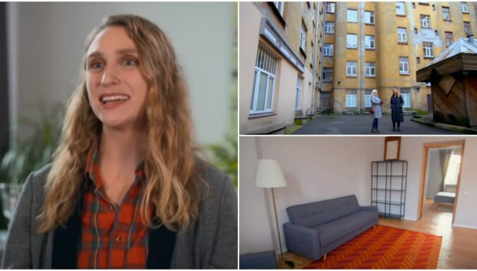 Ar budžetu 590 eiro mēnesī Amerikas latviete ASV šovā meklē dzīvokli Rīgā