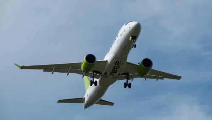 airBaltic из Риги выполняет рейсы по 14 маршрутам, несмотря на низкий спрос