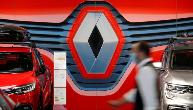 'Renault' gadā strādājis ar rekordlieliem zaudējumiem