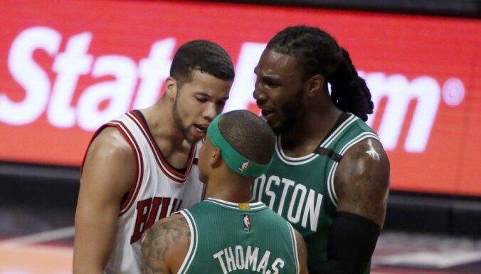 'Celtics' un 'Jazz' izlīdzina rezultātu NBA 'play off' sērijās