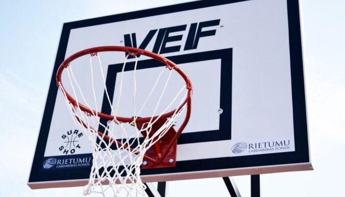 Skolēnus aicina piedalīties sacensībās un iegūt savai skolai basketbola grozu