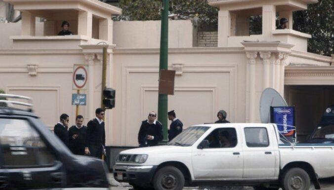 Mauritānijas policija izklīdina protesta demonstrāciju