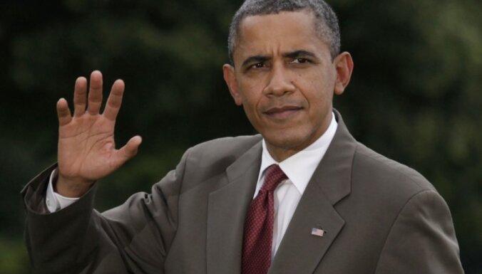Obama: ķīmisko ieroču pielietošana Sīrijā liktu mainīt domas par iejaukšanos konfliktā