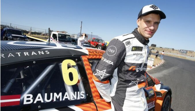 Latvijas rallijkrosa pilots Jānis Baumanis arī nākamsezon startēs 'World RX'